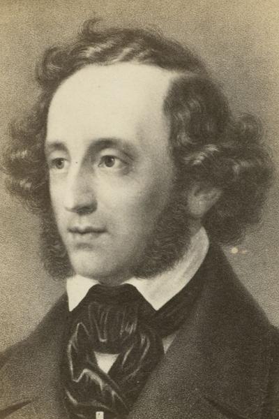 Portrait Felix Mendelssohn
